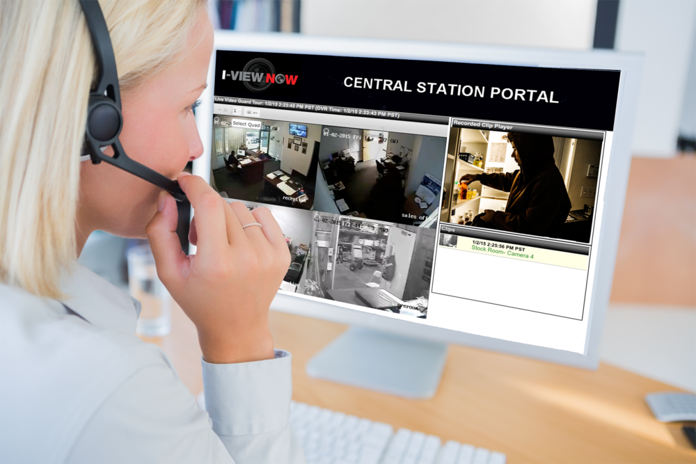 Security Professionals - I-View Now is integrated to the industries leading wholesale and retail monitoring centers. We connect security signals, end user interactions, monitoring centers, and first responders. Our integrations allow thousands of security providers across the country to send traditional security signals,non-traditional signals and video to be processed by professional monitoring centers.
