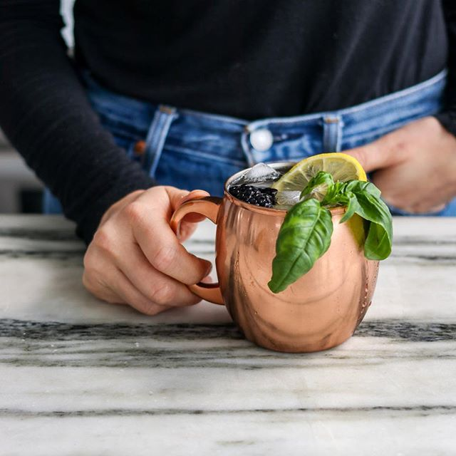 Cheers to 2018! We'll be ringing in the New Year with a Blackberry Basil 🌿 Moscow Mule. We'll see you all in 🎉2️⃣0️⃣1️⃣9️⃣ 🎉