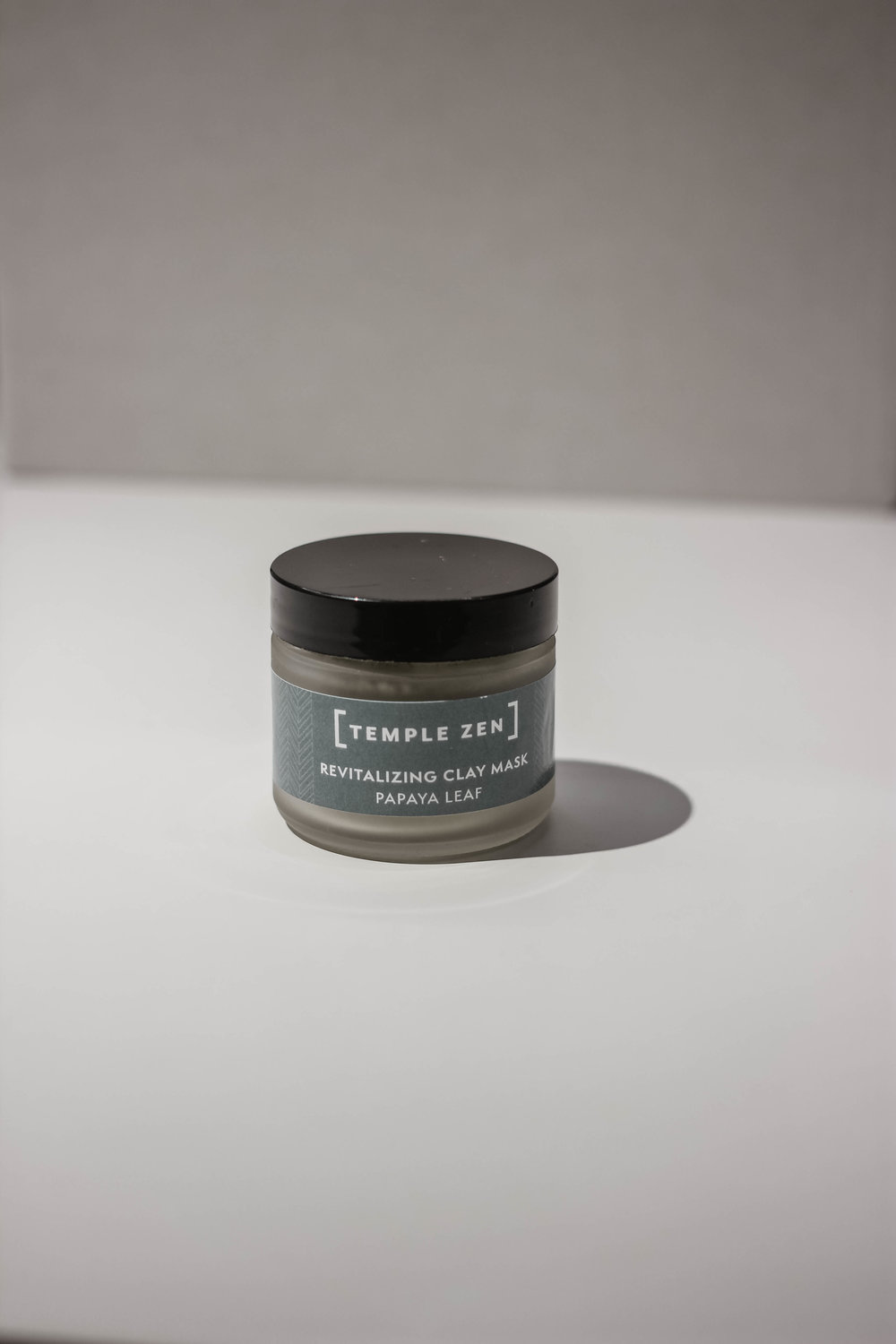 Papaya Leaf Clay Mask - Once or Twice a week I will do a mask after i cleanse. I will mix the powder contents with water or ACV and apply the creamy mixture using my mask applicator. I like it on for about 15-20 minutes. Then I rinse it off.