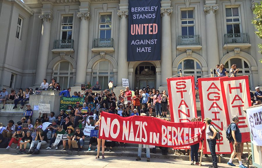 Berkeley, Calif. Stands United Against Hate (2017)