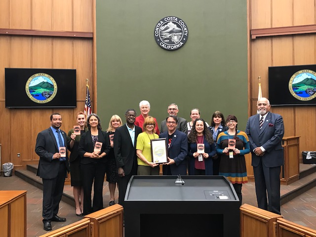 "Contra Costa County is one of several municipalities to adopt a resolution making Nov. 11-18, 2018 officially ""United Against Hate Week."""