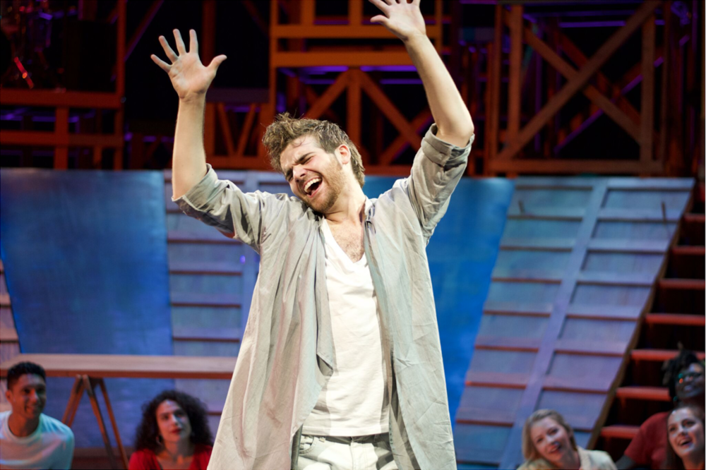 """- """"LOHRBERG'S JESUS IS EXUBERANT AND CHILDLIKE. HE EASILY SEDUCES THE TRIBE WITH HIS BUOYANT PERSONALITY AND WISE TEACHINGS.""""- Encore Michigan""""LOHRBERG IS A CHARISMATIC JESUS, YET APPROPRIATELY GENTLE AND SINGS WITH A POWERFUL YET SWEET VIBRATO. THERE'S NO QUESTION WHY THID TRIBE WANTS HIM FOR THEIR LEADER.""""- Revue West Michigan"""