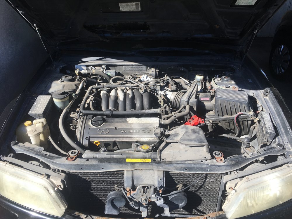Engine Bay(Before)