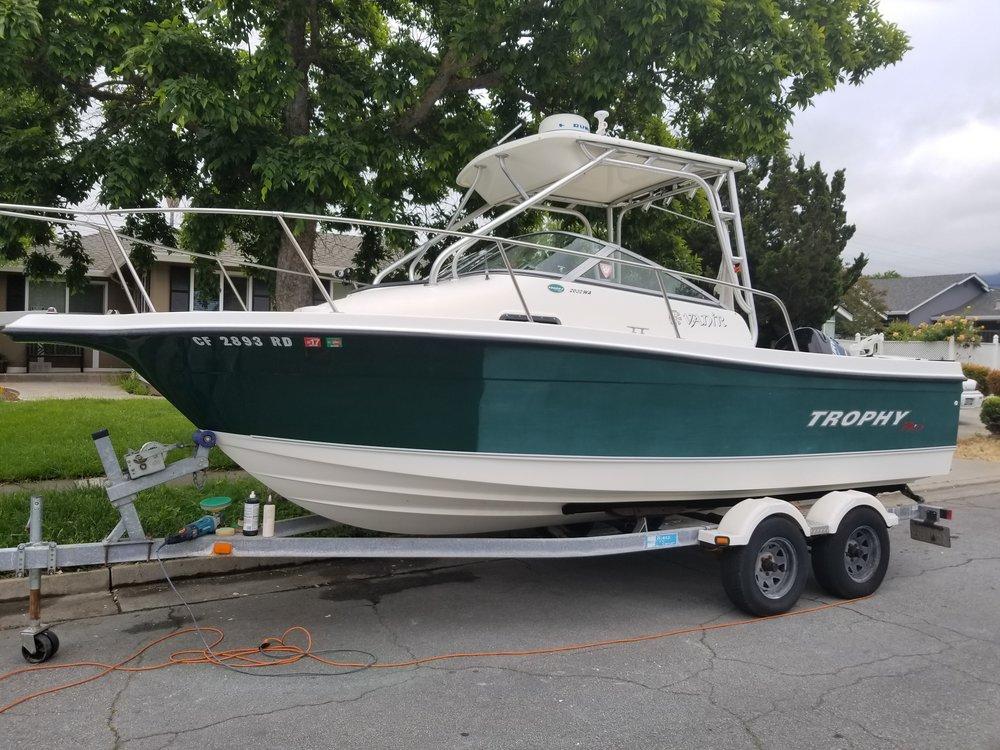 Green Hull Fishing Boat 50/50