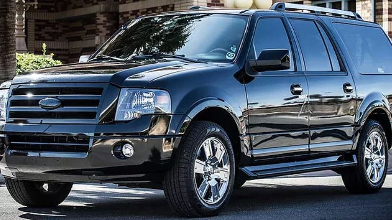 SUV - Our 5 passenger SUV is perfectly suited for executives, small groups, and VIPs who require discretion.