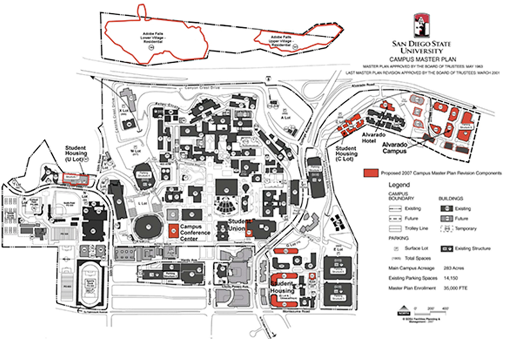 Just approved building plans for next 10,000 students on campus - Learn More