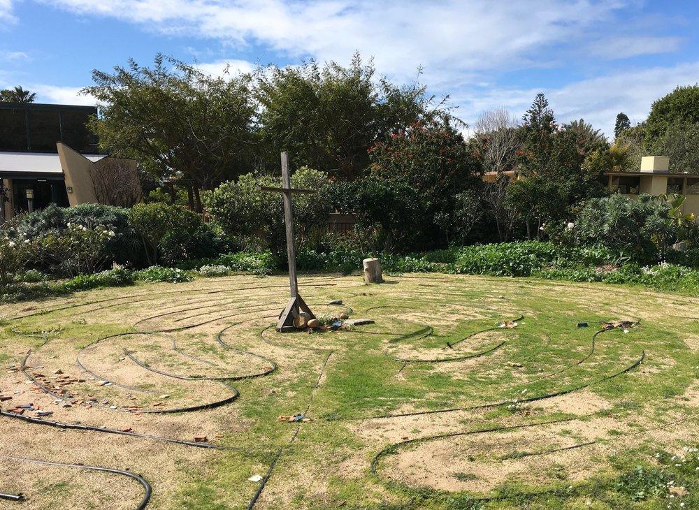 Labyrinth green grass.JPG