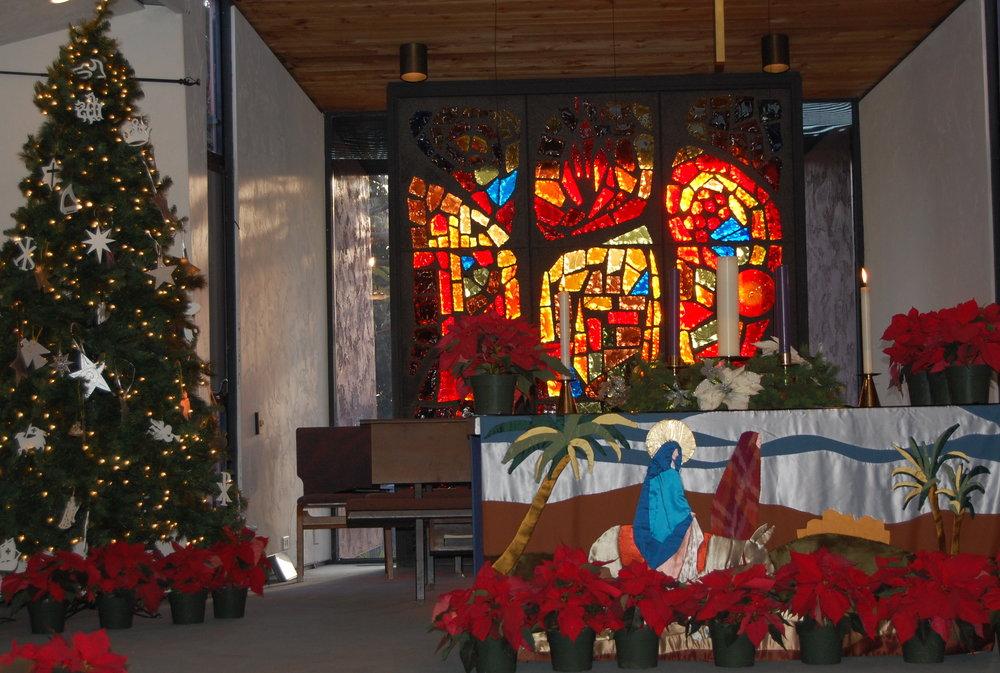 Sanctuary at Christmas empty.JPG
