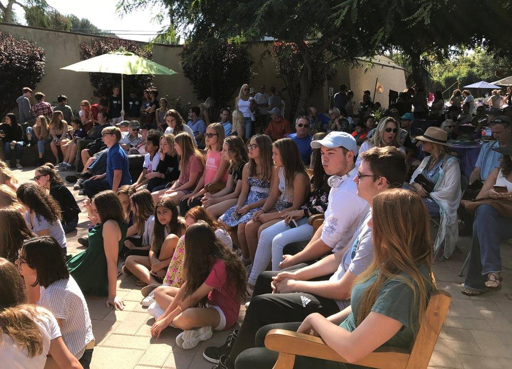 Pie stage audience.JPG