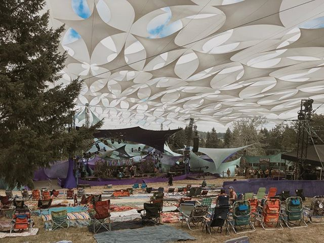 Pickathon this weekend. Loving all the creativity I'm surrounded by! #pickathon2018