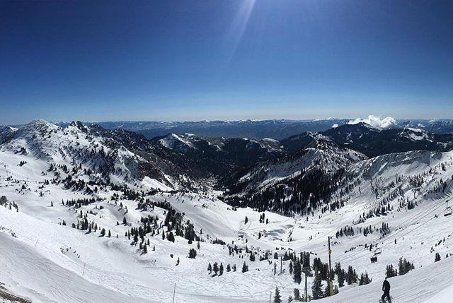 'Twas a warm ski day