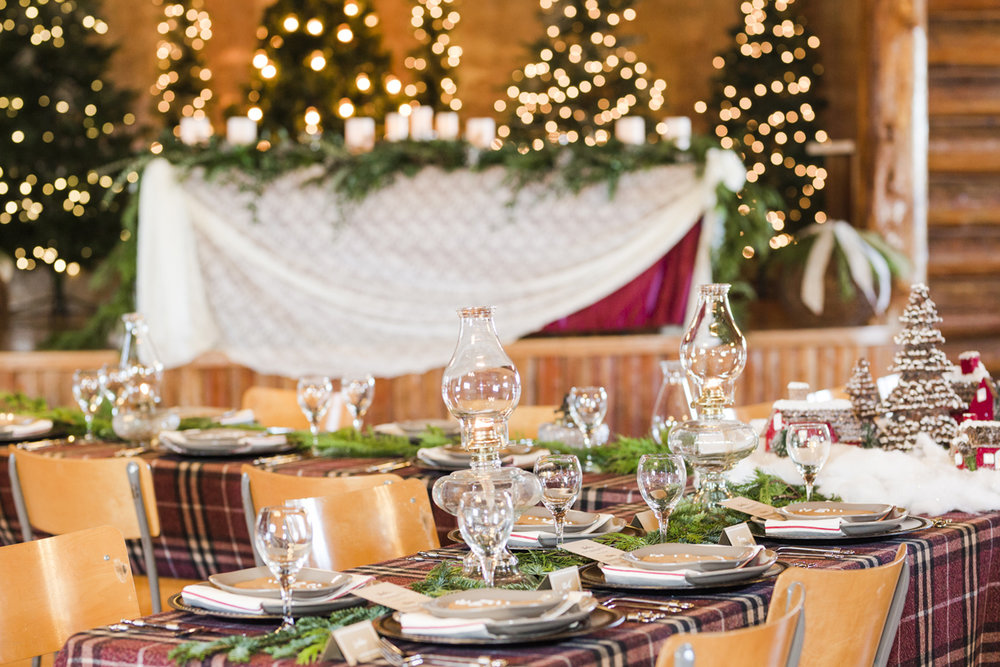 Old Fashioned Christmas - Taking cues from the setting, a historic log building in rural Alberta, this styled shoot merged rustic country with wintery warmth.View Gallery>Published on: Rocky Mountain Bride