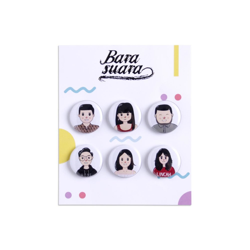 Barasuara Pin Pack