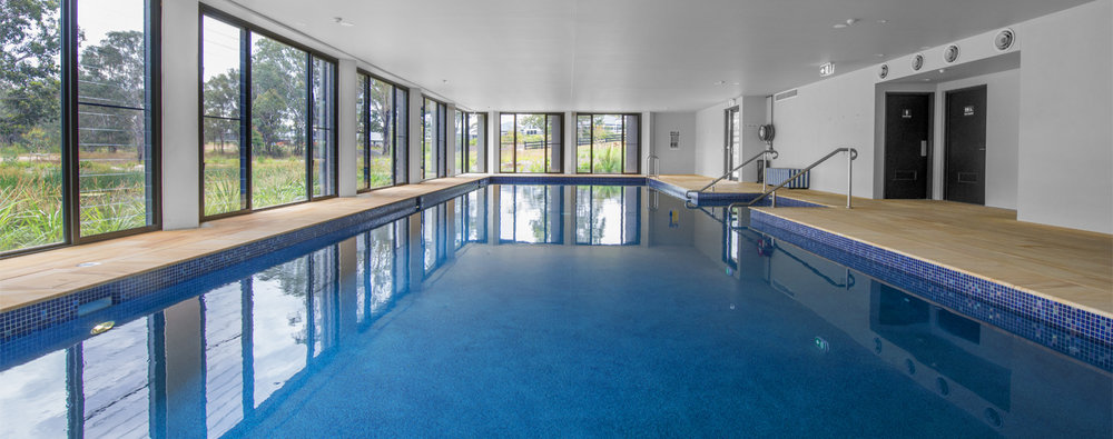 Pool - The indoor heated 18m pool will be perfect for exercise such as aqua aerobics, a few laps or just walking it out. Alternatively, why not take a leisurely dip? And better yet, you don't have to worry about cleaning out the leaves or the PH balance, we take care of all of that for you.