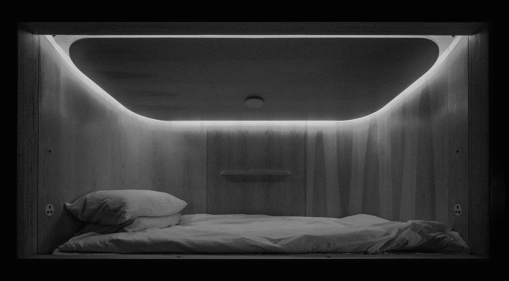 SLEEP_  SLEEEP.  #Capsule #Future #UltraCompact #Design   https://sleeep.io/en/