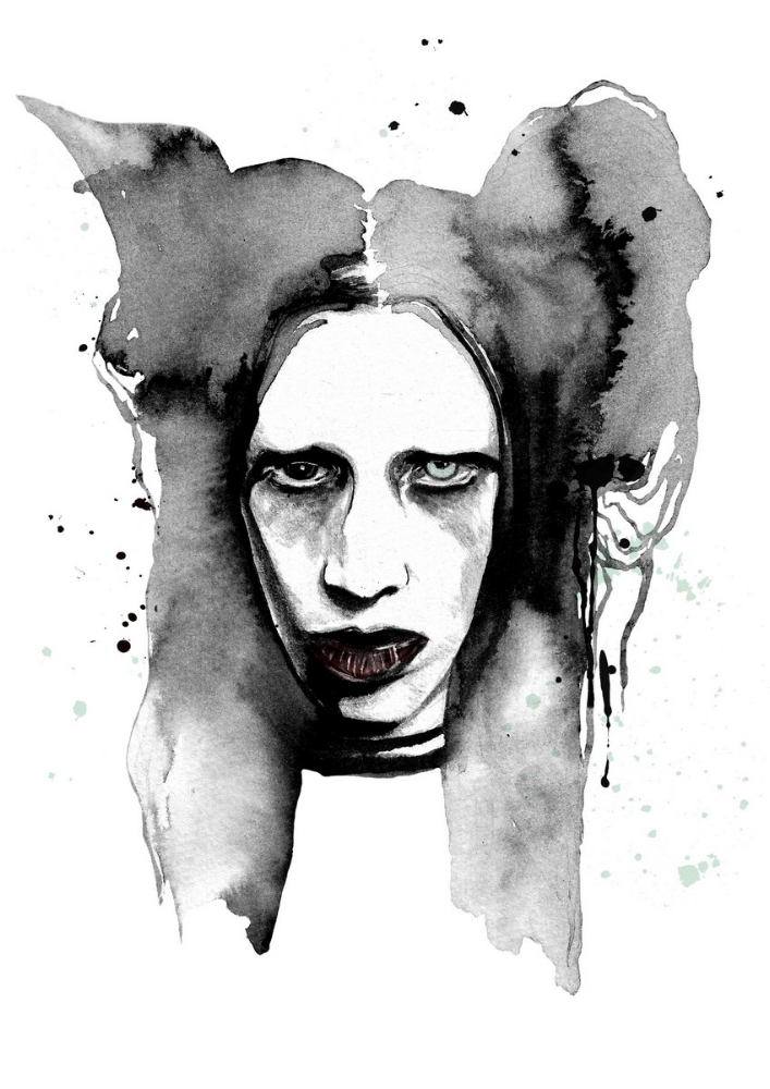 Marilyn Manson by anca pora
