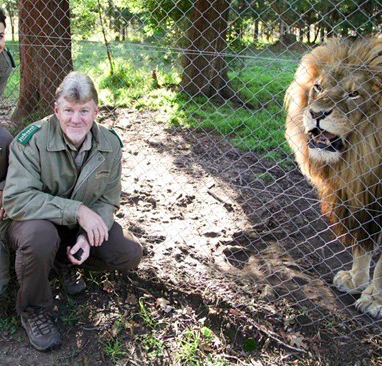 Jurg Olsen   is experienced in designing, constructing and managing wildlife facilities. He has over 15 years experience, as well as experience with managing and owning other business entities. He grew up in the Limpopo Province and had his first encounter with a leopard, at the young age of only 6 years old. This incident, had a lasting impact on him and was key to the choosing of this profession in later years.   Read more