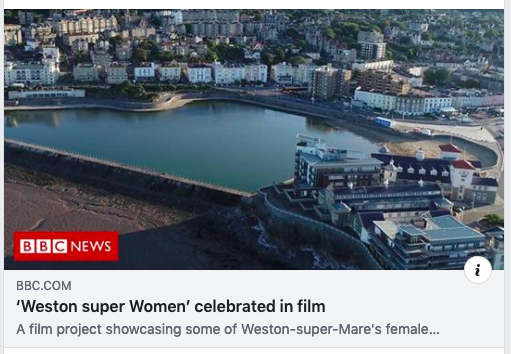 Weston super Women on BBC news