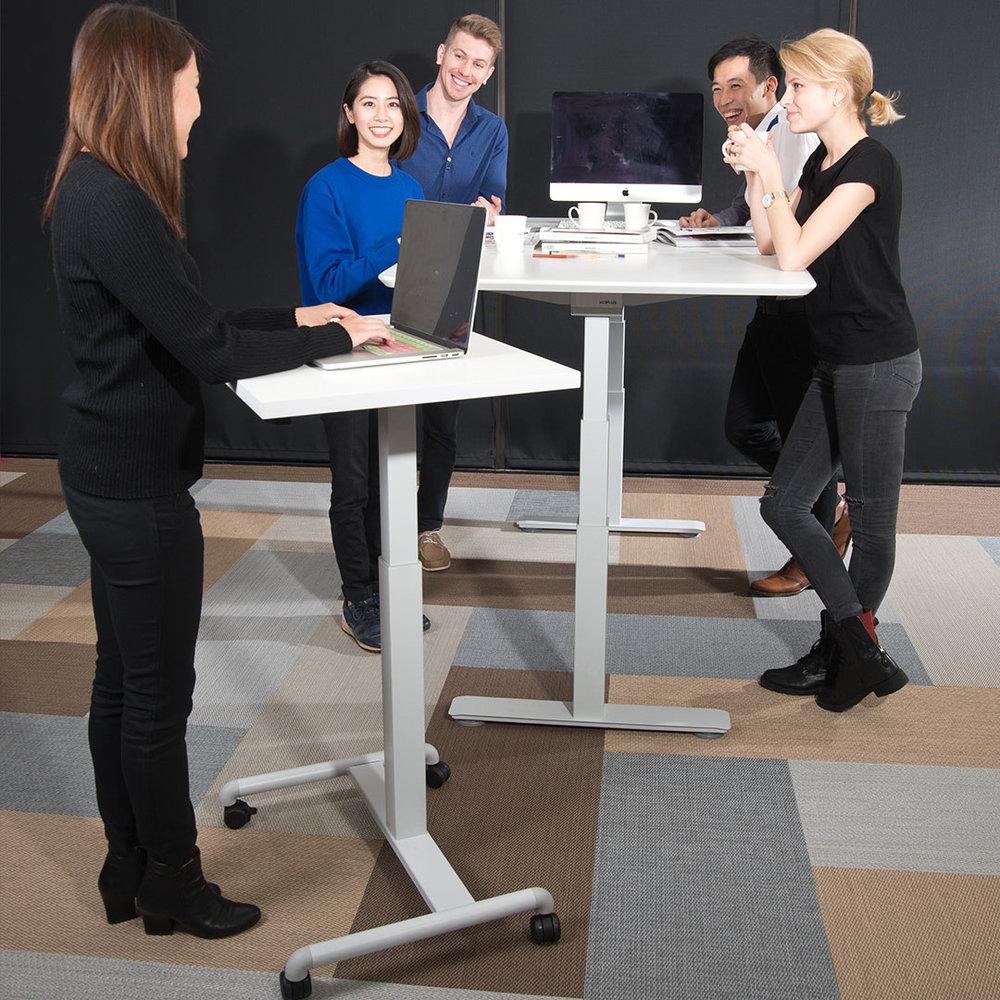 Sit-stand Desk - Electric/Pneumatic Height Adjustable Desks