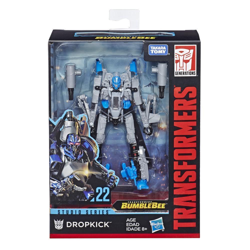 Transformers Studio Series 22 Dropkick Deluxe Class Bumblebee Movie