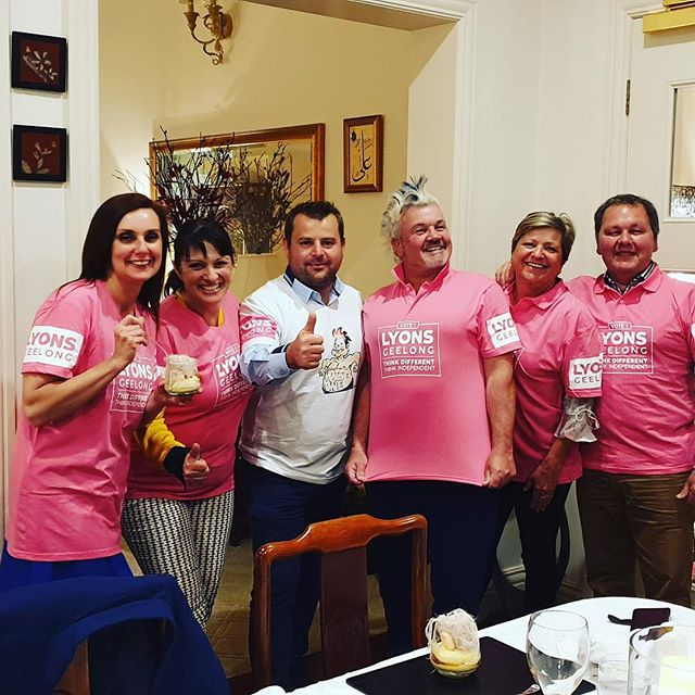 Was great to meet everyone this weekend #pinkarmy #thinkdifferent #thinkindependent #lyons4geelong #vote1lyons