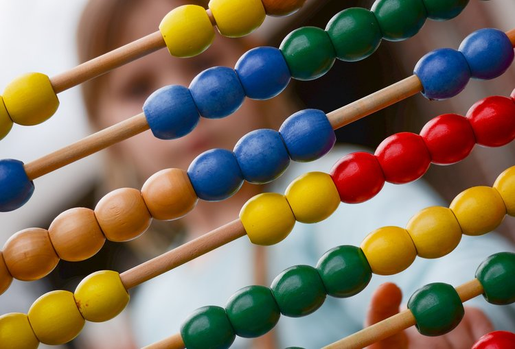 Using manipulatives is a fantastic way to help students that struggle with Maths.
