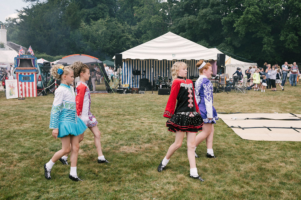 Irish Dancing, Langton Green Village Fair, Kent, England