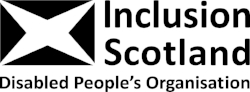 Inclusion Scotland Logo 4 Black and White.jpg
