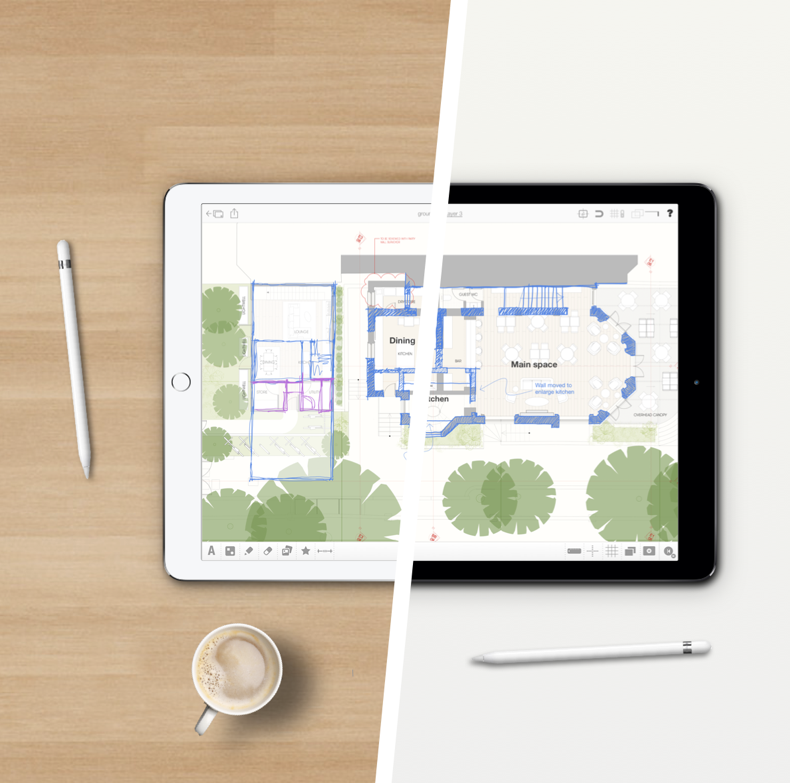 Archisketch - Archisketch enables us to work fast and be responsive as well as sketch initial ideas to scale on site and hardline concepts immediately in the most effective way.