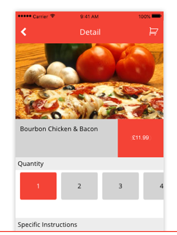 FOOD ORDERING - A simple and effective way for restaurants to take orders and process payments. You have full control with customisable menu and pricing, delivery/take-out options, and in-app payment.