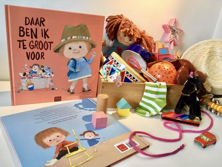 "Dutch Edition of ""That's For Babies"" published by Clavis Uitgeverij"