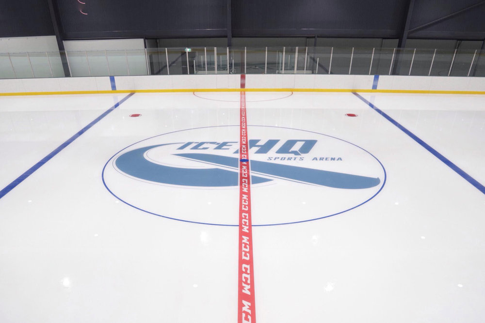 CENTRE ICE AT ICEHQ