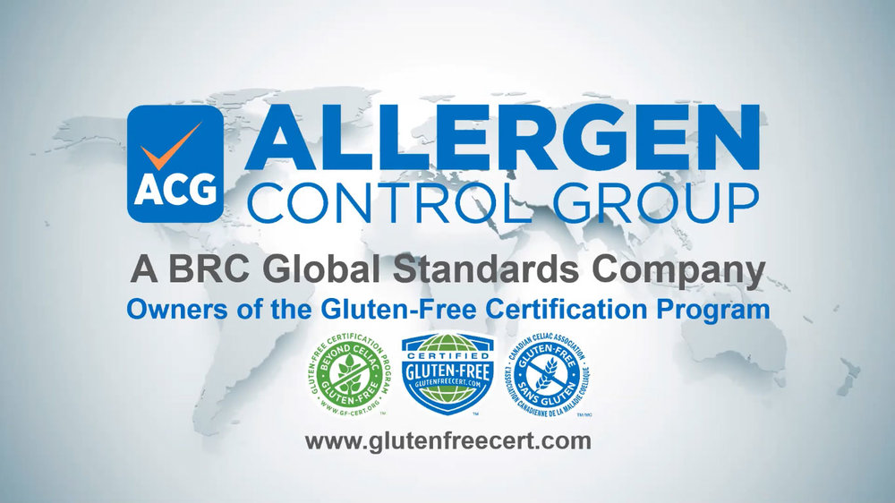 Allergen Control Group:  BRC Global Standards Company