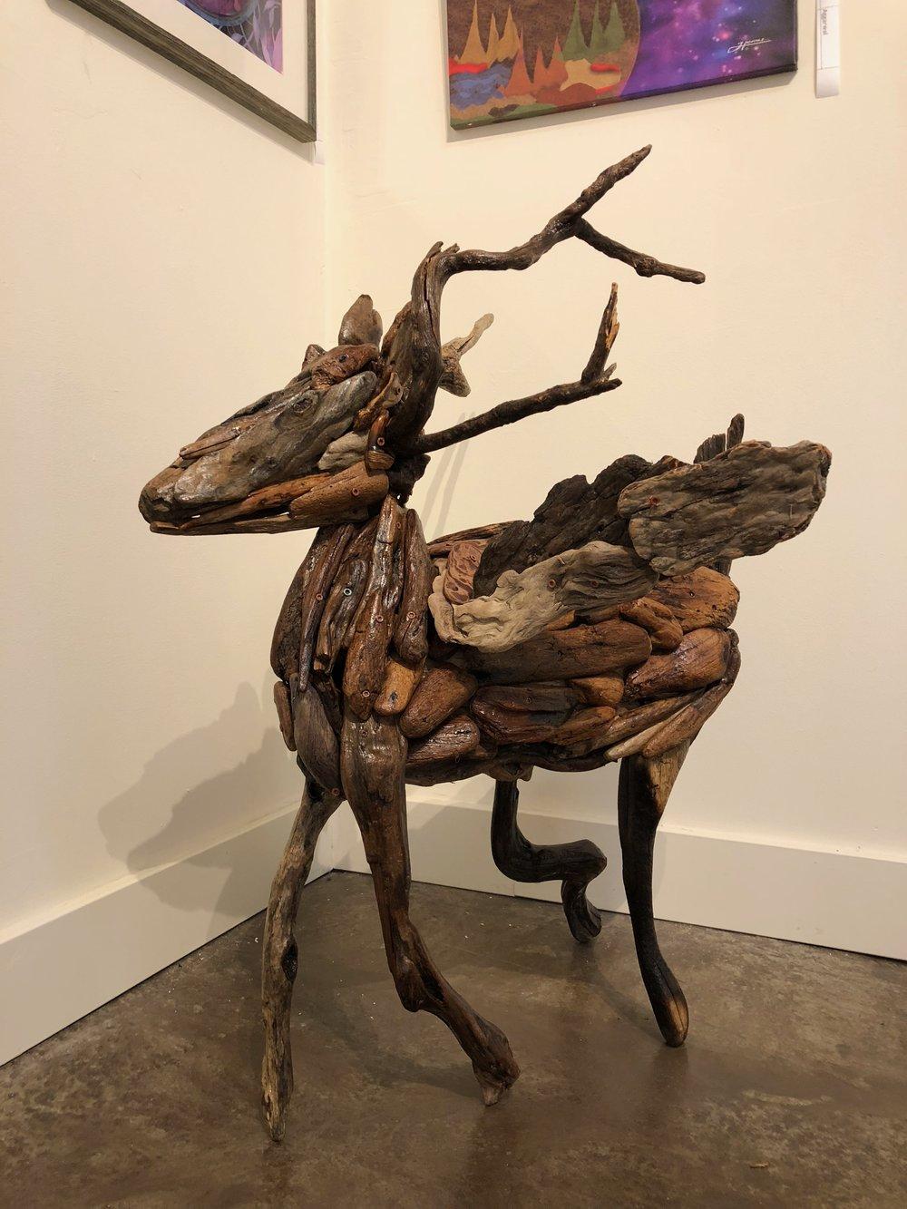 The flying Deer