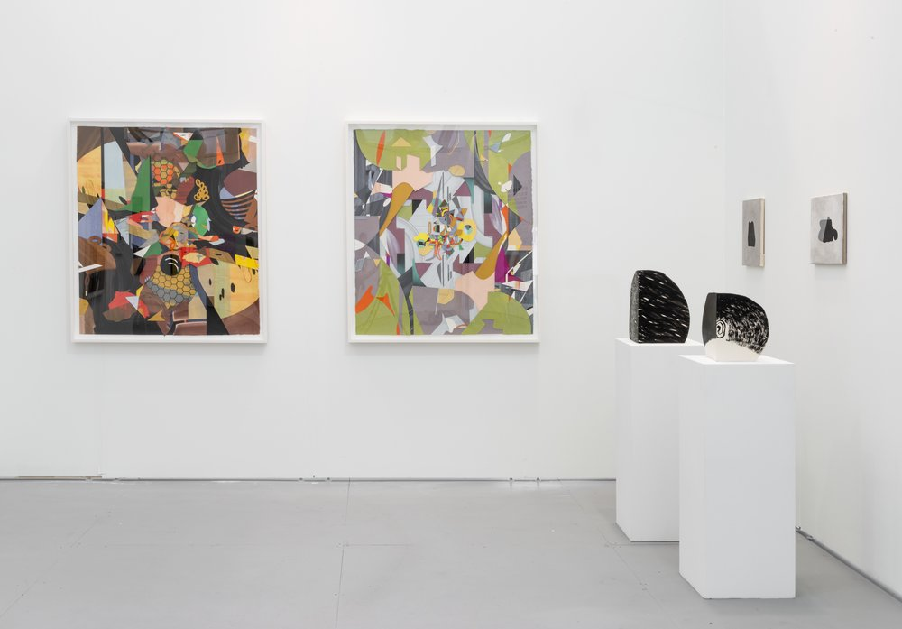 "Installation view, ""UNTITLED Art Fair"" (with Amy Pleasant), presented by Jeff Bailey Gallery, Miami, 2015"