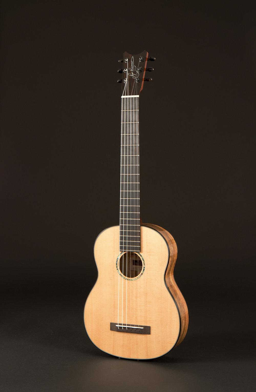 Six-String Spalted Mango
