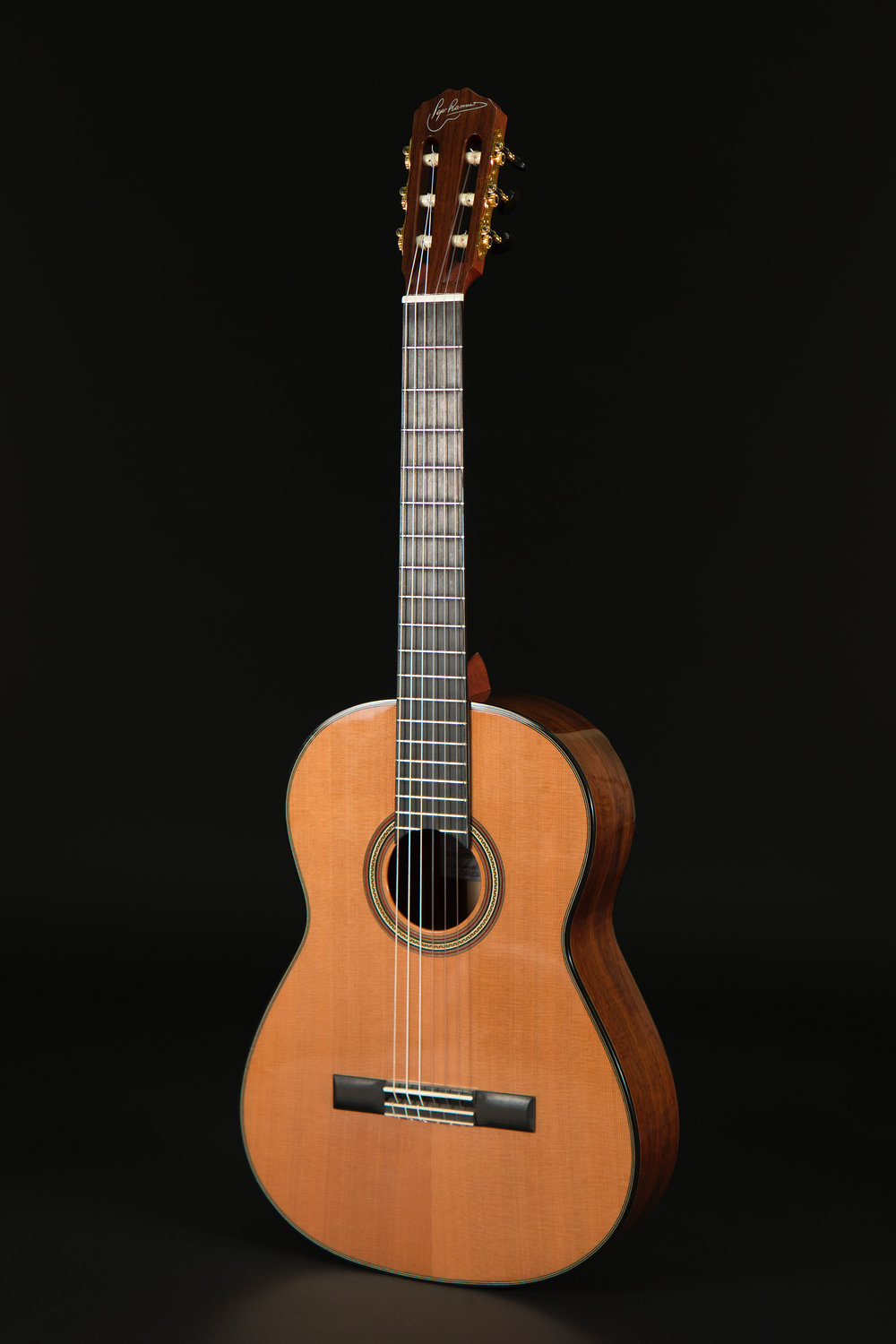 Classical Guitar Cedar Walnut