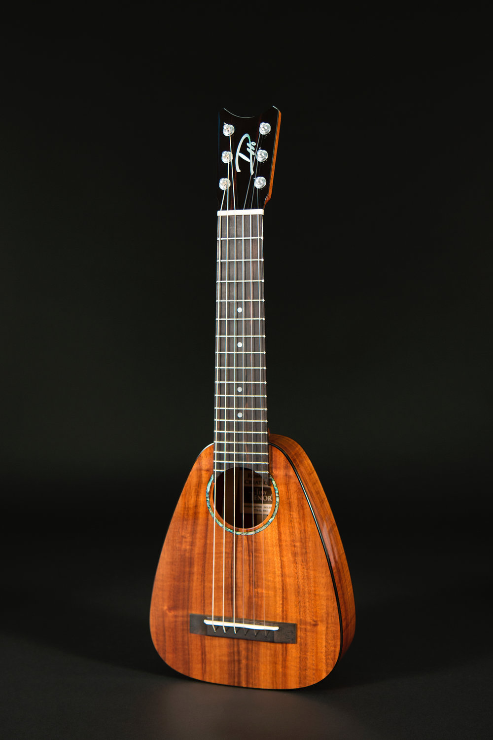 Tiny Tenor 6 String Koa