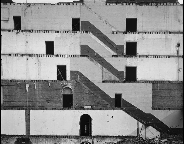 Danny Lyon,  Wall of the Saint George Building , 1966-67.