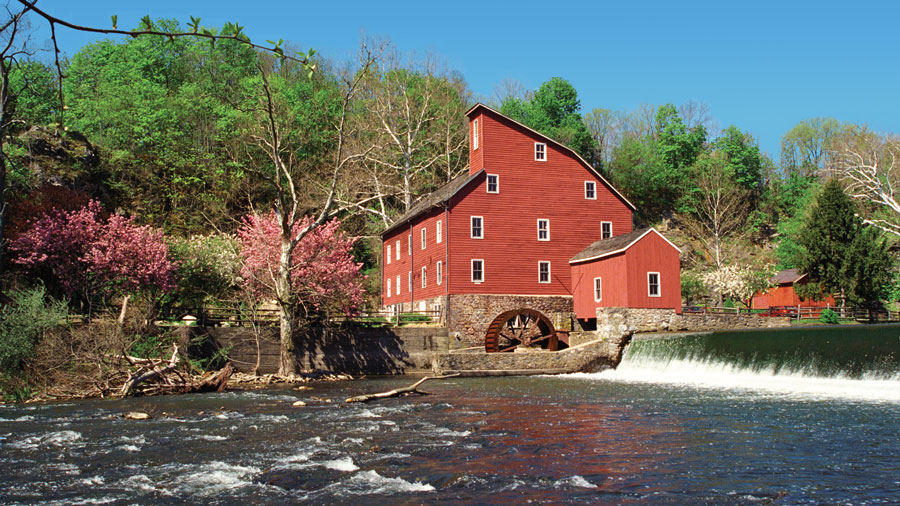 Red Mill Spring, Clinton, NJ. Photo by Dan Bacon