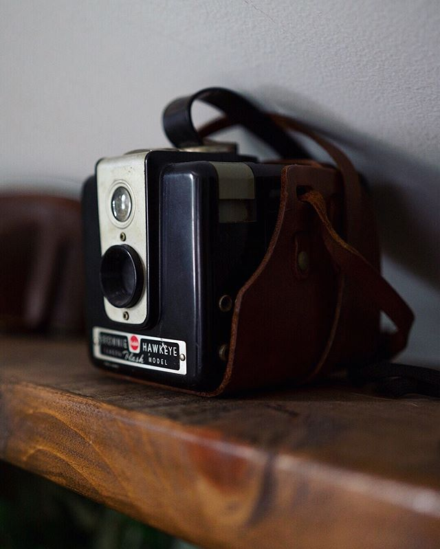 This is one item that most definitely #sparksjoy in my office. It is part of a whole collection of old film cameras that were once my Grandparents. I may or may not ever use them but I love them all the same.