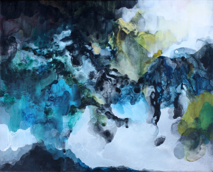 Untitled, acrylic on canvas, 92 x 60 cm — SOLD