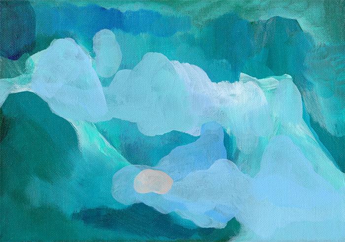 Change of Season, acrylic on canvas, 30 x 21 cm —   available