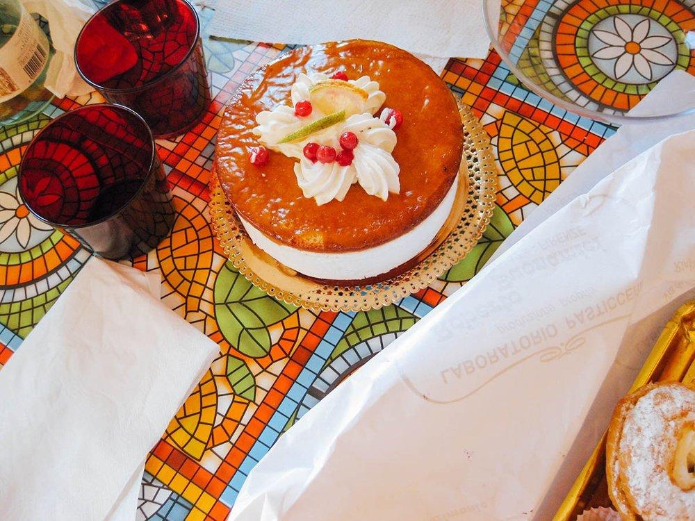 Cake from Pasticceria Buonamici