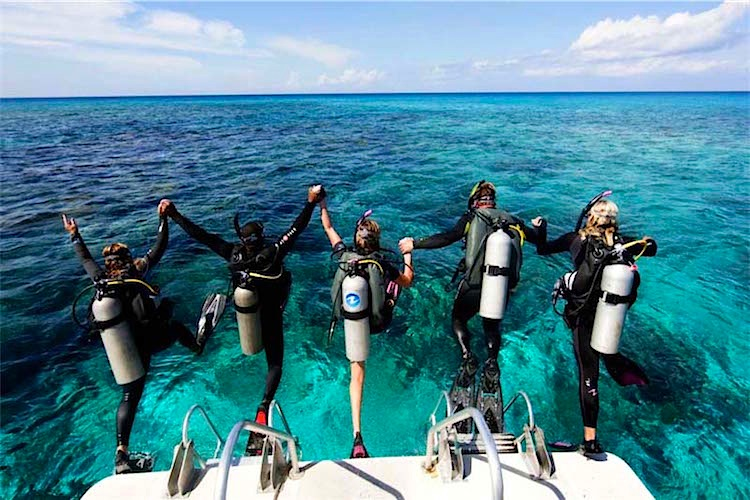 Start a new lifestyle! - Becoming a Dive Professional with Cayuco Reef Divers!