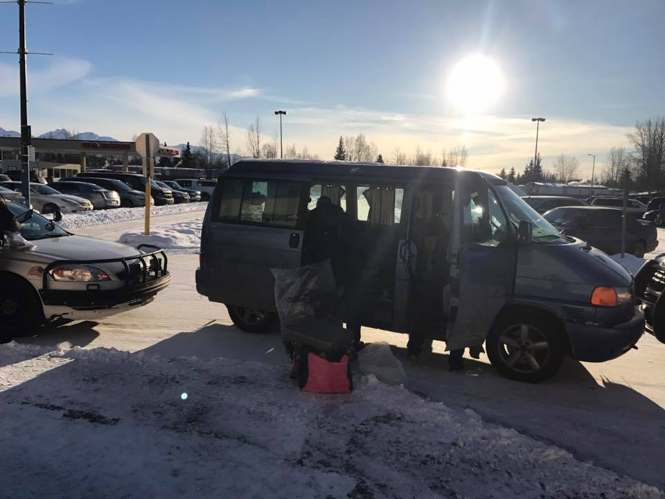 Thank you to the Anchorage Police Dept. for recovering our stolen van!