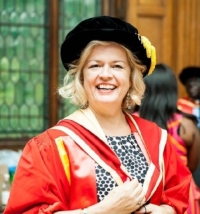 Dr GILL BARHAM - Doctorate Honoris Causa