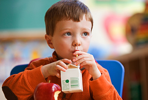 Toddler lactose or dairy intolerance