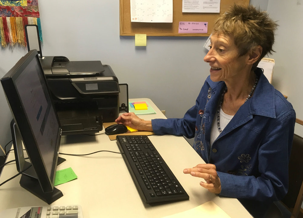 Administrator at Desk