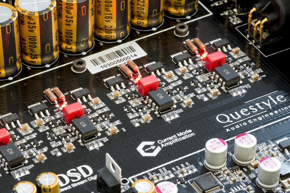 QUESTYLE CMA600I DAC / HEADPHONE AMPLIFIER